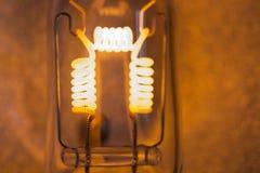 Filament. One 1000 watt lamp bulb filament Royalty Free Stock Photos
