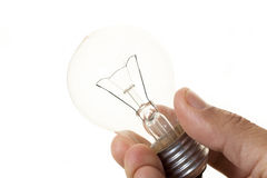 Filament bulb Royalty Free Stock Photo
