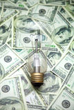 Filament bulb Royalty Free Stock Image