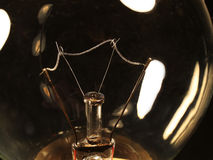 Filament bulbs Royalty Free Stock Images