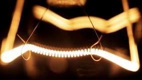 Filament de tungstène d'ampoule électrique clips vidéos