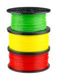 Filament pour la copie 3d Photographie stock
