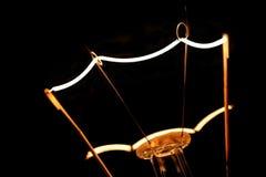 Filamento del tungsteno Fotografia Stock