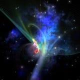 Filamento do quantum Imagem de Stock
