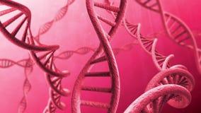 Filamento giratorio de la DNA libre illustration