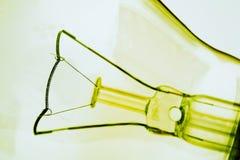 Filamento in una lampadina immagini stock libere da diritti