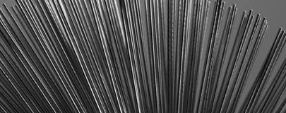 Filamentos del metal Imagen de archivo libre de regalías