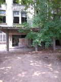 Filantropia hospital. Ruins #bucharest romania royalty free stock photography
