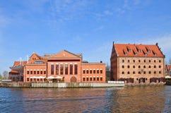 Filarmônico Báltico polonês, Gdansk imagens de stock royalty free