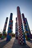 filaru abstrakcjonistyczny kolorowy widok Zdjęcie Stock