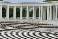 Filary w amfiteatrze zdjęcie stock