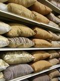 Filas de almohadillas Imagen de archivo
