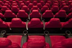 Filas de asientos Foto de archivo
