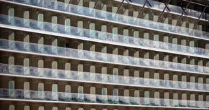 Filas de balcones imágenes de archivo libres de regalías