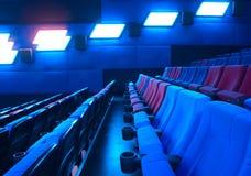 Filas de los asientos del teatro Fotografía de archivo libre de regalías