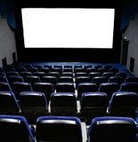 Filas de los asientos del teatro Fotos de archivo libres de regalías