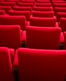Filas de los asientos del teatro Imagen de archivo