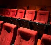 Filas de los asientos del teatro Fotografía de archivo