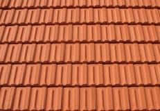 Filas de los azulejos de azotea Fotografía de archivo libre de regalías
