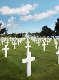 Filas de sepulcros Fotos de archivo