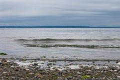 Filas del agua Foto de archivo libre de regalías