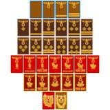 Filas e insignias de Nazi Party desde 1939 Stock de ilustración