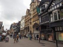 Filas en Chester Fotos de archivo libres de regalías