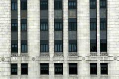 Filas y columnas de ventanas Imagen de archivo