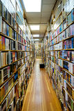 Filas y filas de libros Foto de archivo