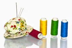 Filato cucirino Fotografia Stock