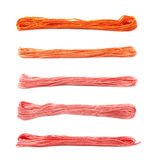 Filato del filo del ricamo isolato Fotografia Stock