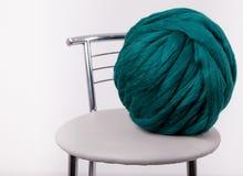 Filato della lana merino Immagine Stock Libera da Diritti