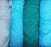 Filato di lana fotografia stock