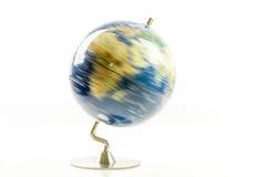 Filatura del globo del mondo fotografia stock