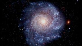 Filatura della galassia a spirale royalty illustrazione gratis
