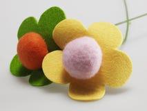 Filc kwiaty Obraz Stock