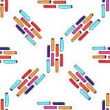 Filc wtyka kolorowego bezszwowego wzór Fotografia Royalty Free