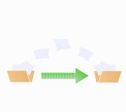 File transfer. Fild transfer data graphic vector eps10 Stock Photo