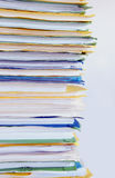 File. A stack of file Royalty Free Stock Photos