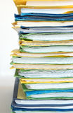 File. A stack of file Royalty Free Stock Photo