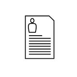 File archive document  icon Royalty Free Stock Image