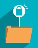 File archive icon symbol design Stock Image