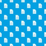 File AVI pattern seamless blue. File AVI pattern repeat seamless in blue color for any design. Vector geometric illustration Royalty Free Stock Photo