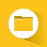 File and big data design Stock Image