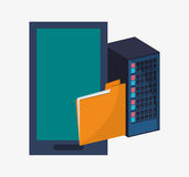 File and big data design Stock Photo