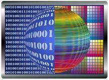 File binari e colori Fotografia Stock Libera da Diritti