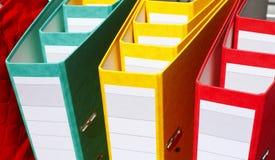 File Binders Royalty Free Stock Photo