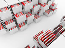 File cabinet folder Royalty Free Stock Photos