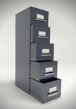 File cabinet. Royalty Free Stock Image