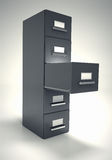 File cabinet. Royalty Free Stock Photos